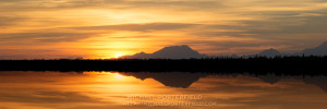 Alaska Photographer Michael Porterfield - Midnight Sun